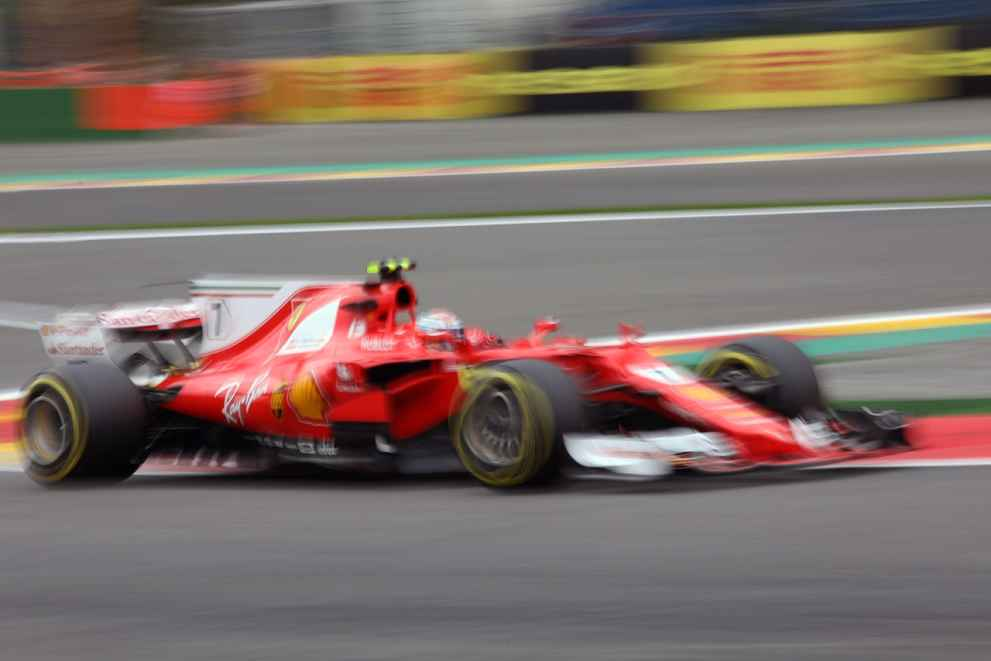 Kimi Räikkönen zweiter