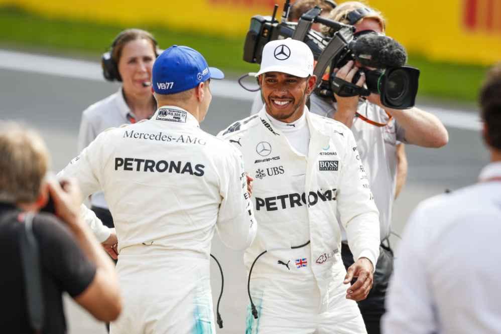 Hamilton fuhr mit seiner Rundenzeit einen neuen Streckenrekord in Spa-Francorchamps