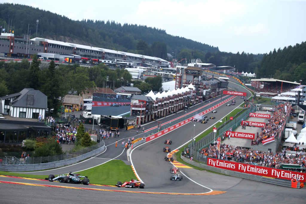 Formel 1 GP Belgien 2017 Start