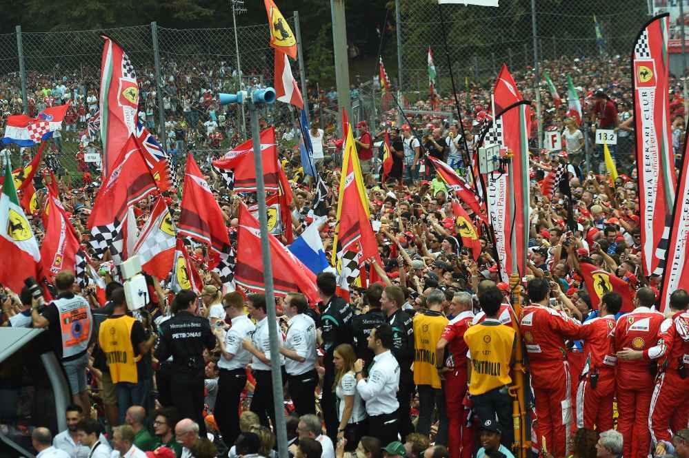 Fans F1 GP Italien 2016