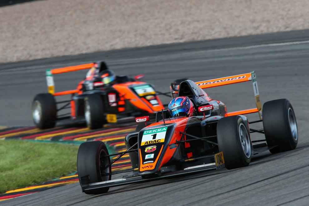 Auf dem Weg zum fünften Saisonsieg: Felipe Drugovich aus Brasilien