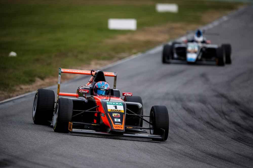 Felipe Drugovich steht zweimal in der ersten Startreihe