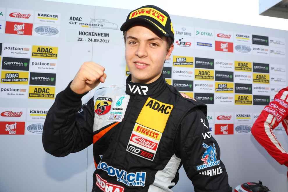 Mit sieben Siegen 2017 fuhr Felipe Drugovich auf Rang drei der