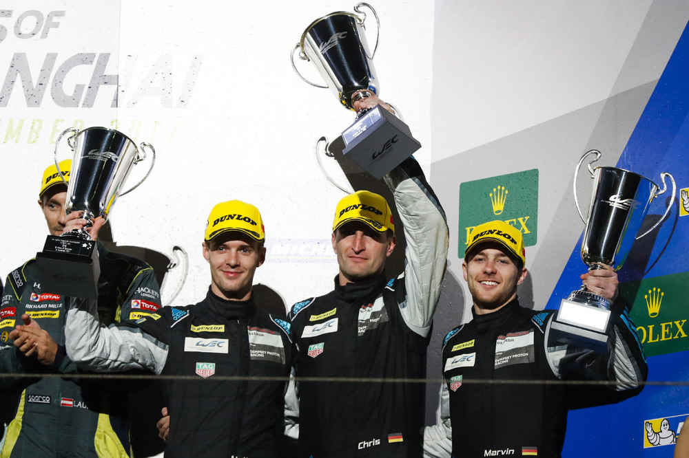 Dempsey-Proton Racing: Matteo Cairoli, Christian Ried, Marvin Dienst (l-r)