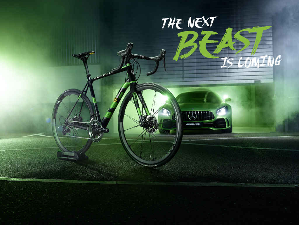 "Das neue ROTWILD-Rennrad R.S2 Limited Edition ""Beast of the Green Hell"""