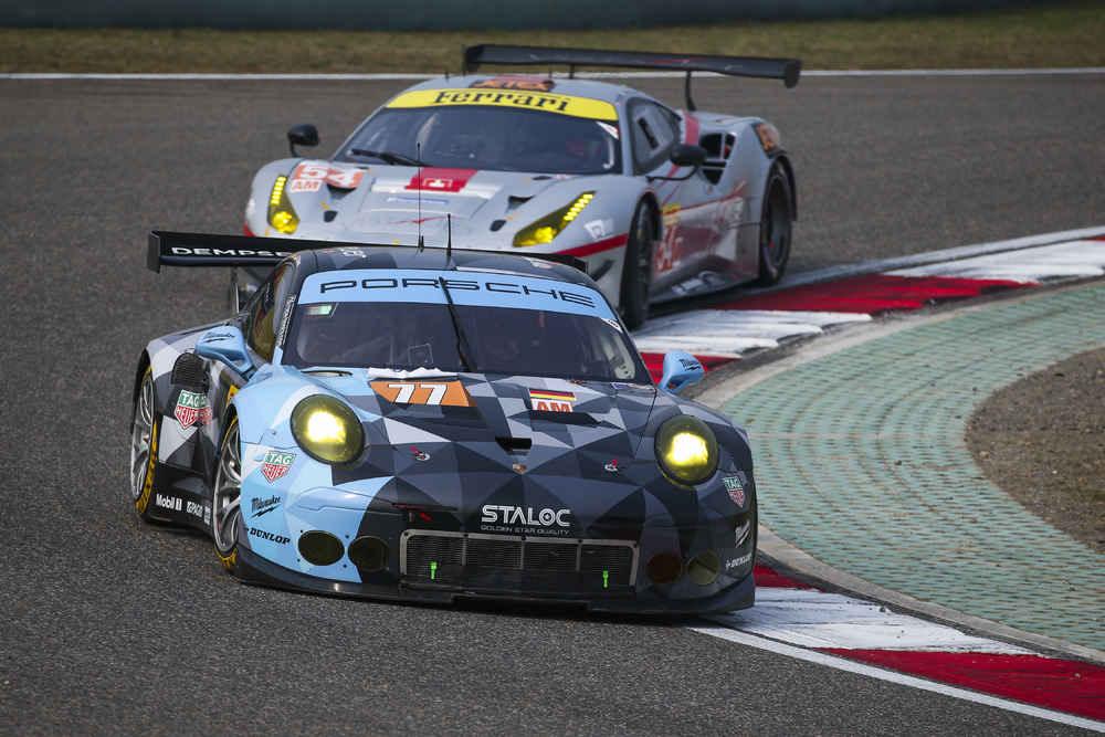 Porsche 911 RSR (77), Dempsey Proton Racing: Christian Ried, Matteo Cairoli, Marvin Dienst