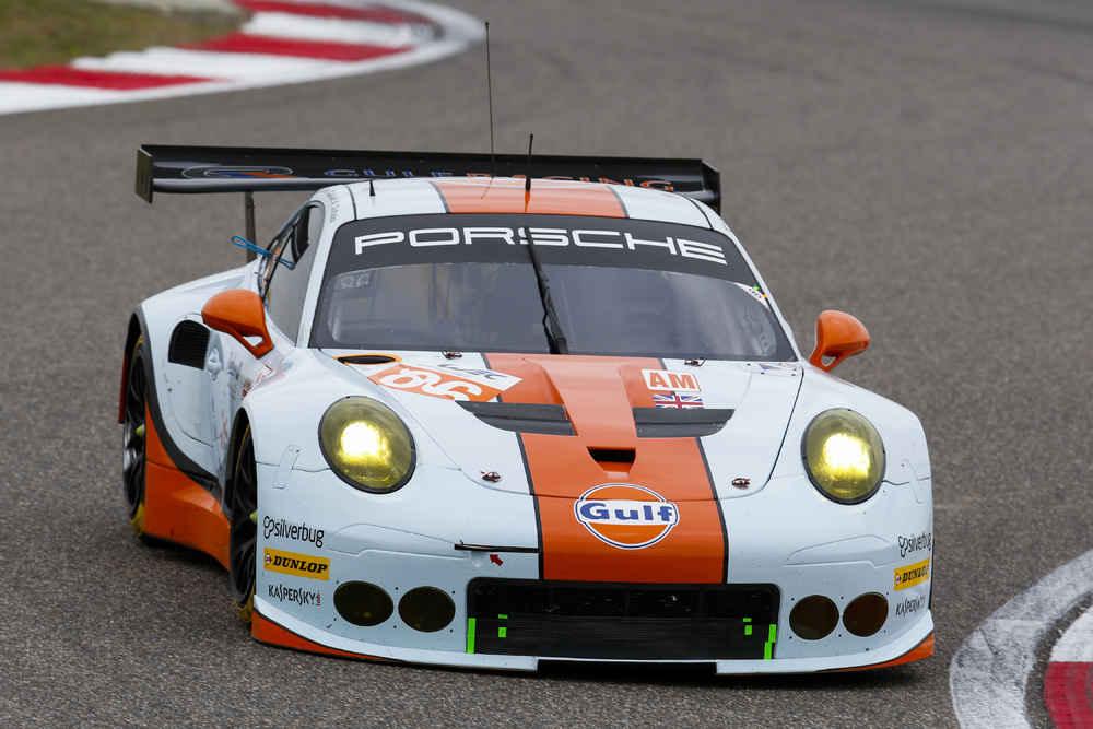 Porsche 911 RSR (86), Gulf Racing: Nicholas Foster, Ben Barker, Michael Wainwright