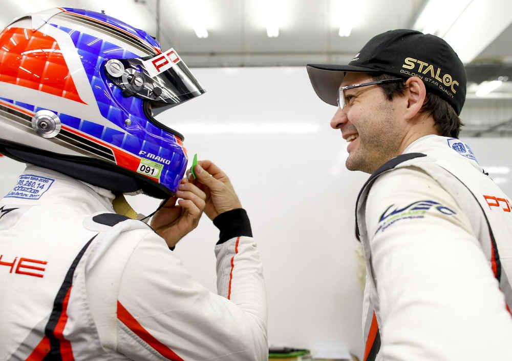 Porsche GT Team: Richard Lietz, Frederic Makowiecki (l-r)