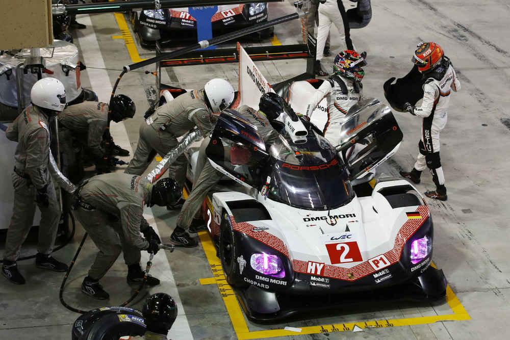 Porsche 919 Hybrid, Porsche LMP Team: Earl Bamber, Timo Bernhard, Brendon Hartley