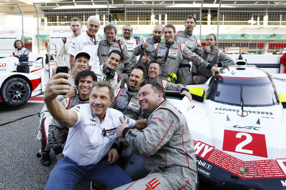 Richy Müller, Porsche 919 Hybrid, Porsche LMP Team