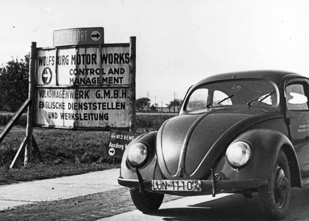 Volkswagen Typ 1, erste Generation: der Käfer.