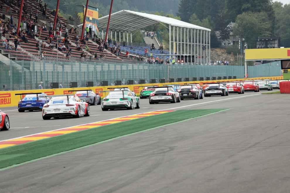 Der Carrrera Cup fährt 2018 im Rahmen des GT-Masters