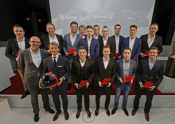 Audi Sport customer racing ehrt seine Kunden