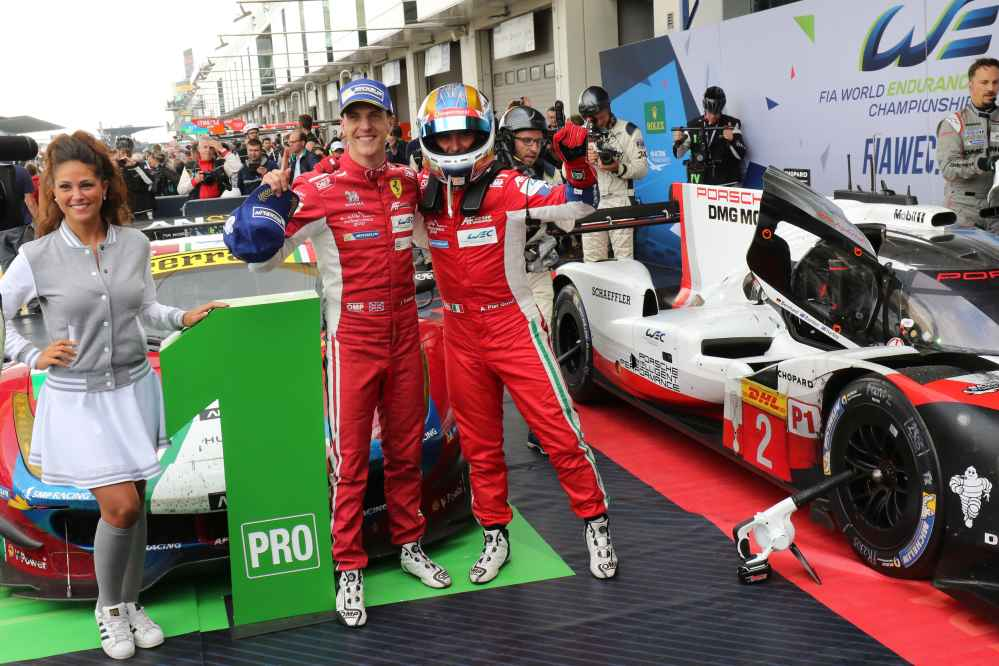 James Calado und Alessandro Pier Guidi holten für Ferrari den GT WM Titel in der WEC 2017