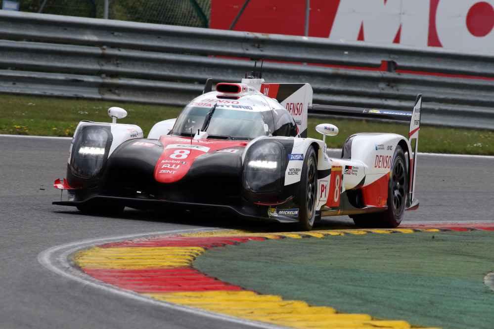 Alonso wird im Toyota #8 zusammen mit Buemi und Nakajima starten