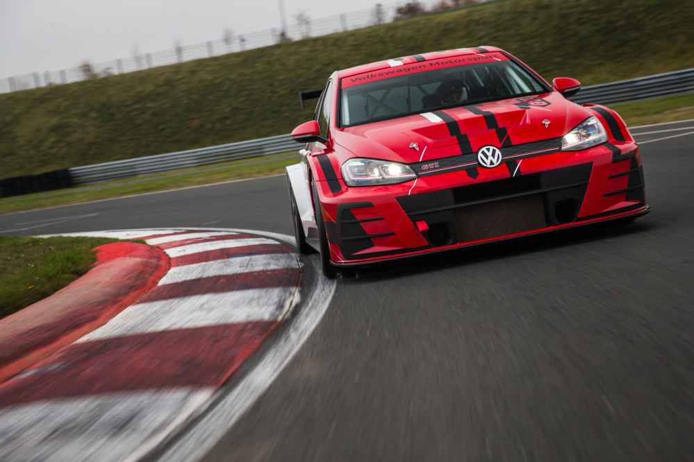 WTCR: Sébastien Loeb Racing mit Volkswagen Golf GTI TCR am Start