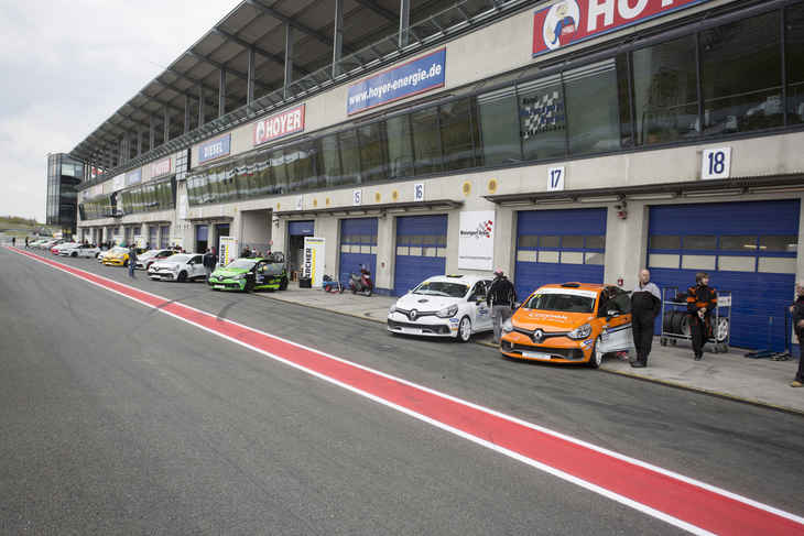 Renault Clio Cup Central Europe: Testtag am 19. März in Oschersleben
