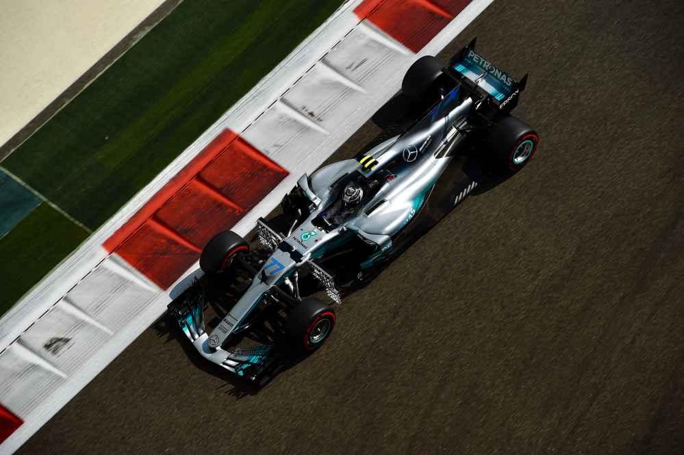 Lewis Hamilton im Mercedes 2017