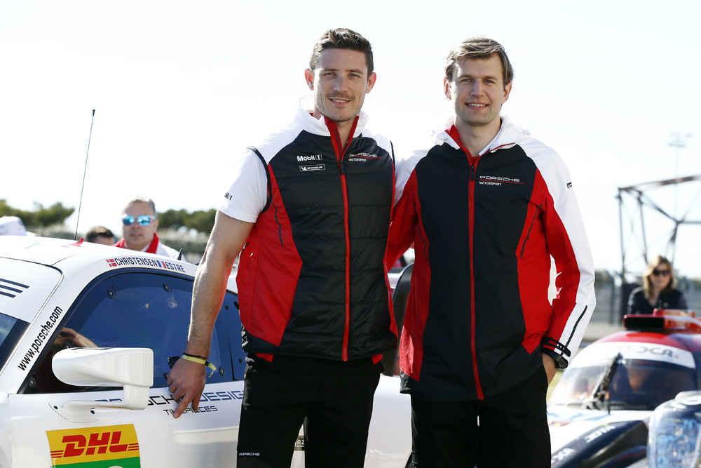 Porsche GT Team (92), Kevin Estre, Michael Christensen (l-r)