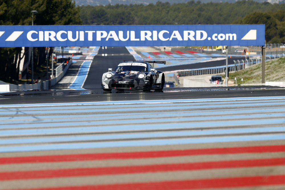 Porsche 911 RSR, Dempsey Proton Racing (88), Matteo Cairoli, Khaled Al Qubaisi, Giorgio Roda