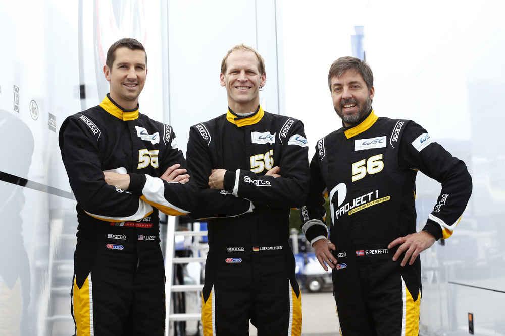 Team Project 1 (56), Patrick Lindsey, Joerg Bergmeister, Egidio Perfetti (l-r)