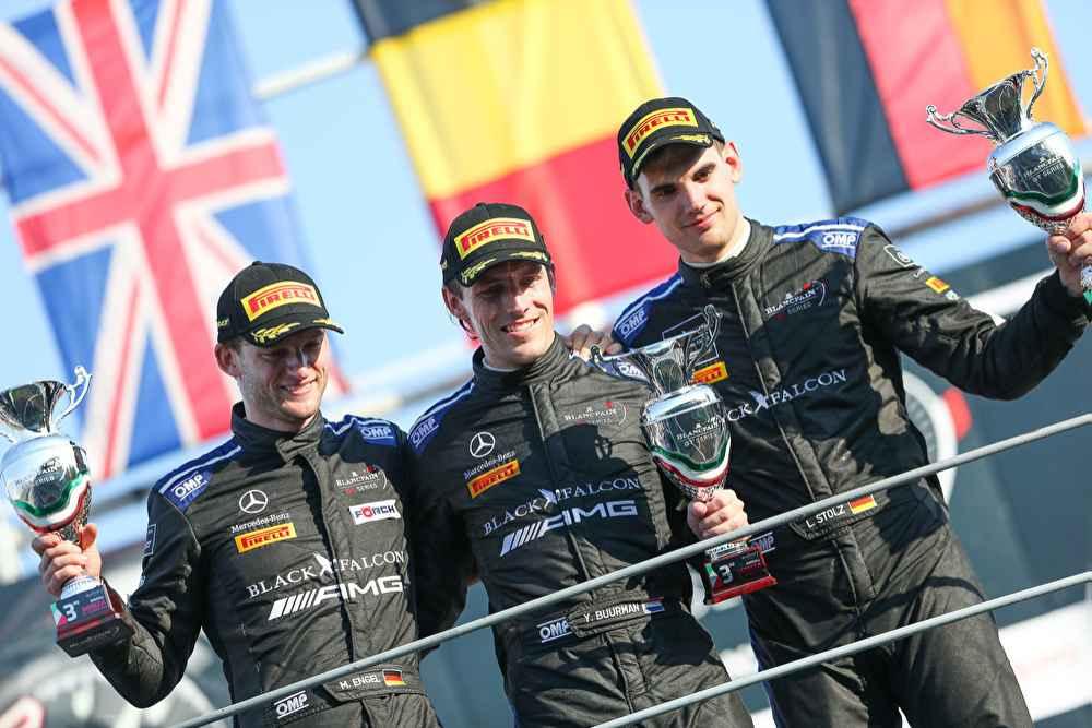 P3 für Mercedes-AMG Team BLACK FALCON #4: Maro Engel, Yelmer Buurman, Luca Stolz