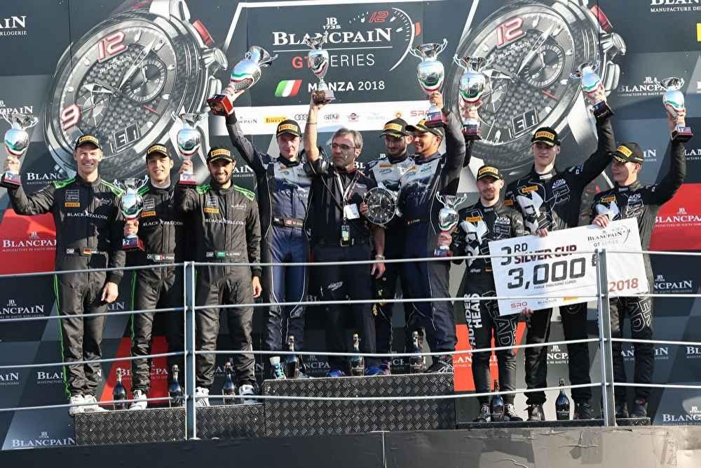 Silver Cup: P2 und P3 für die Mercedes-AMG GT3 #6 und #90 von BLACK FALCON und AKKA ASP