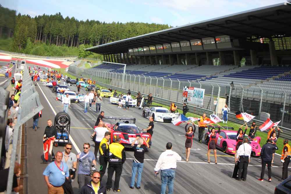 DMV GTC mit starkem Starterfeld am Red Bull Ring