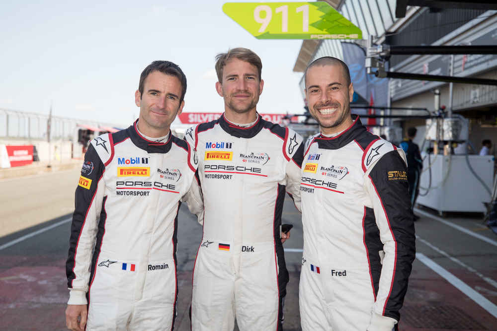 Romain Dumas (F), Dirk Werner (D), Frederic Makowiecki (F), Manthey-Racing