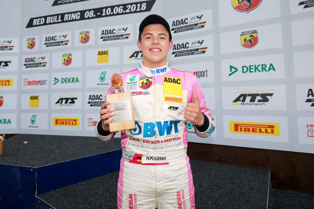 Niklas Krütten feiert Rookiesieg