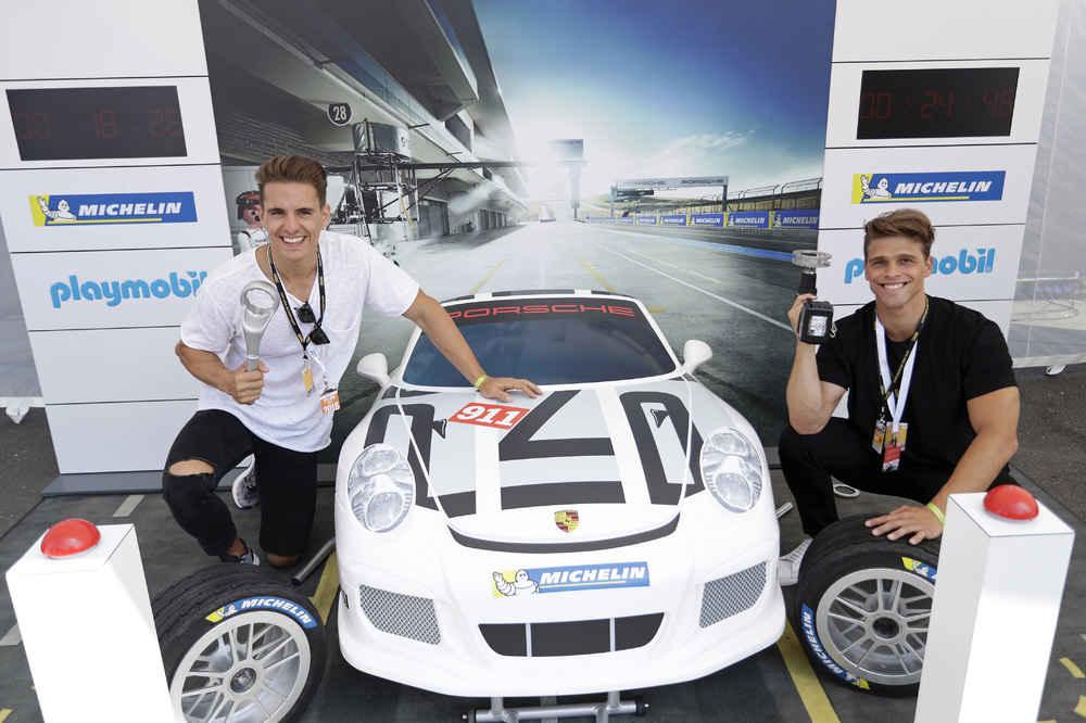 Philipp Knefz, Fabian Fröhlich, Porsche Carrera Cup Deutschland, Spielberg 2018