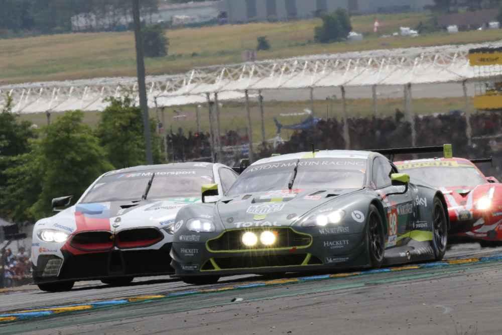 Aus für den GT-Am Aston Martin nach Unfall