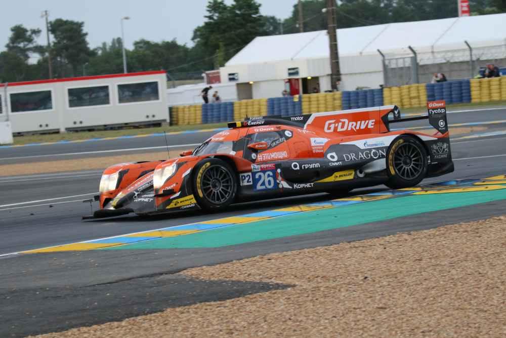 G-Drive führt in der LMP2