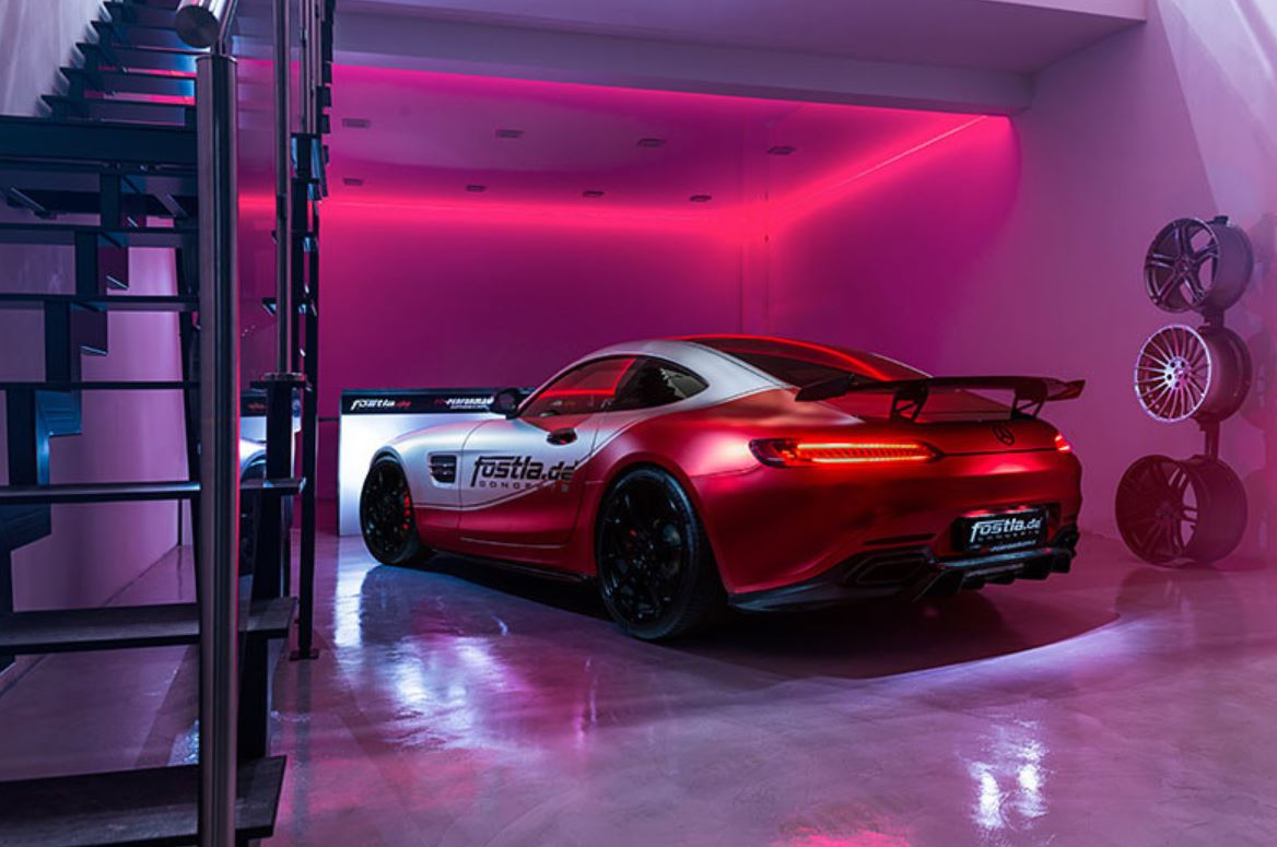 Mercedes AMG GT S by Fostla.de