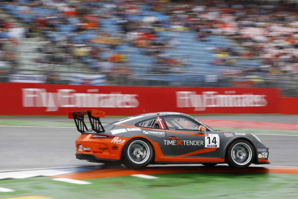 Porsche 911 GT3 Cup, Mikkel Overgaard Pedersen (DK), Porsche Mobil 1 Supercup, Hockenheim 2018