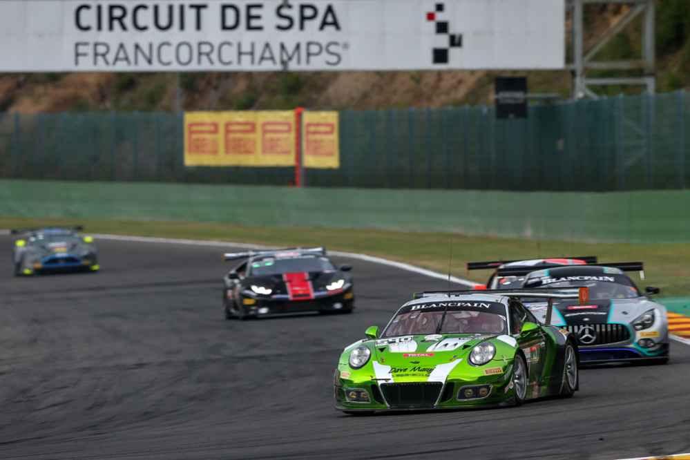 Black Swan Racing Porsche 911 GT3 R (540) Timothy Pappas, Jeroen Bleekemolen, Marc Lieb, Marc Miller