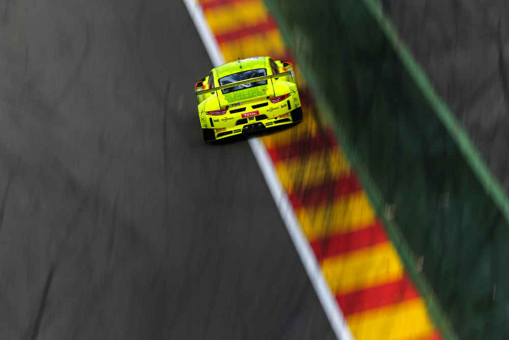 Manthey-Racing, Porsche 911 GT3 R (911), Frederic Makowiecki (F), Spa-Francorchamps 2018