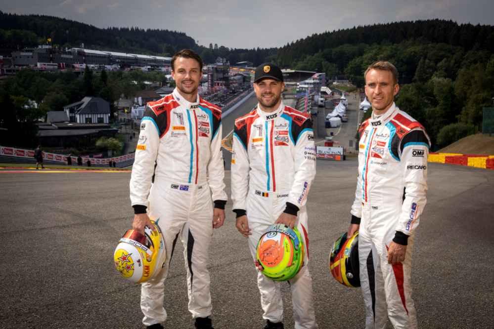 Earl Bamber (NZ), Laurens Vanthoor (B), Timo Bernhard (D), KÜS Team75 Bernhard