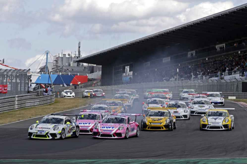 Start: Porsche Carrera Cup Deutschland, Nürburgring II - 2018