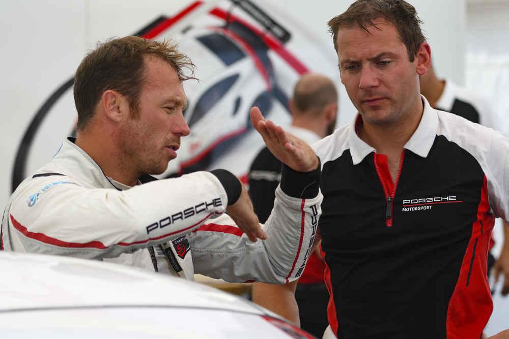 Porsche GT Team: Patrick Pilet (l), Nick Tandy