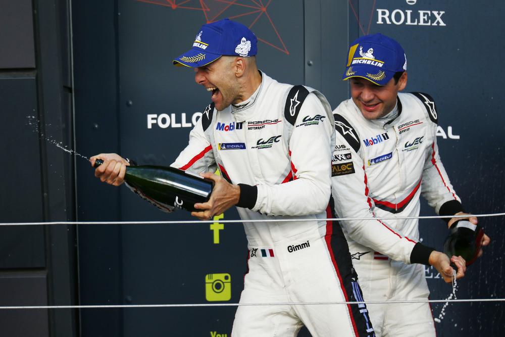 Porsche GT Team (91), Gianmaria Bruni (I), Richard Lietz (A) (l-r)
