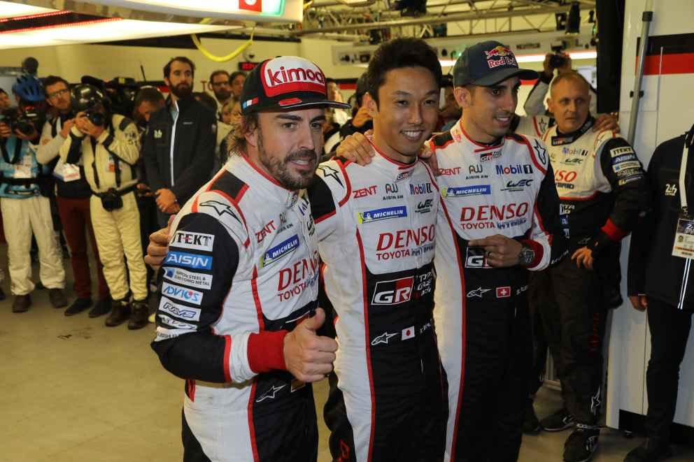 Dritter Sieg im dritten Rennen für Fernando Alonso-Kazuki Nakajima und Sebastien Buemi