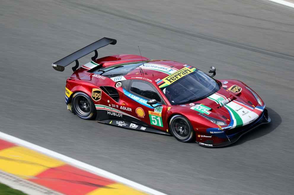 Alessandro Pier Guidi und James Calda gewinnen im AF-Corse 488 die GT-Pro