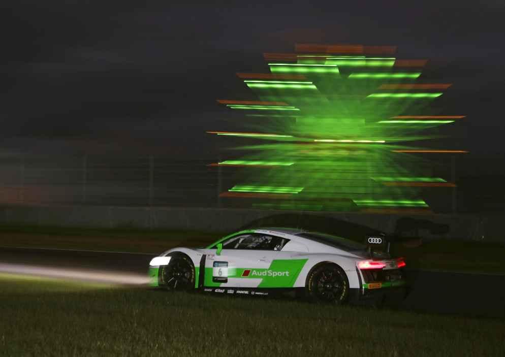 Vier Audi R8 LMS unter den besten zehn