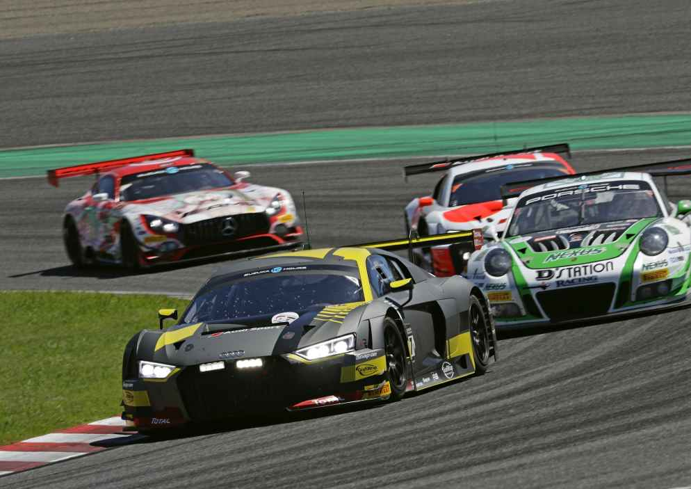 Alle Kundenteams von Audi Sport bei extrem harten Bedingungen im Ziel