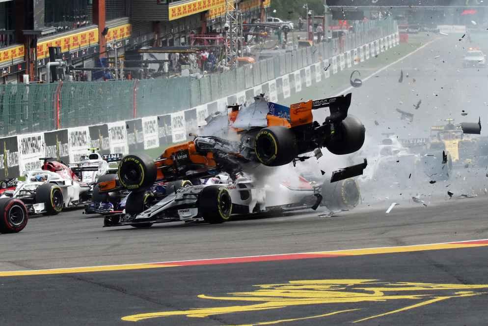 Unfall Formel 1