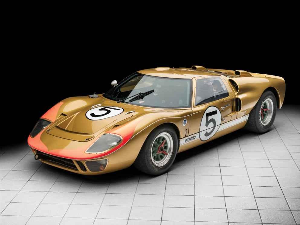 Der Ford GT40 Mk II (1966) erzielte 8,42 Millionen Euro