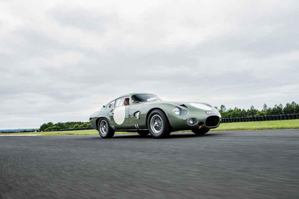 Der Aston-Martin DP215 Grand-Touring Competition Prototype (1963) erzielte 18,45 Millionen Dollar