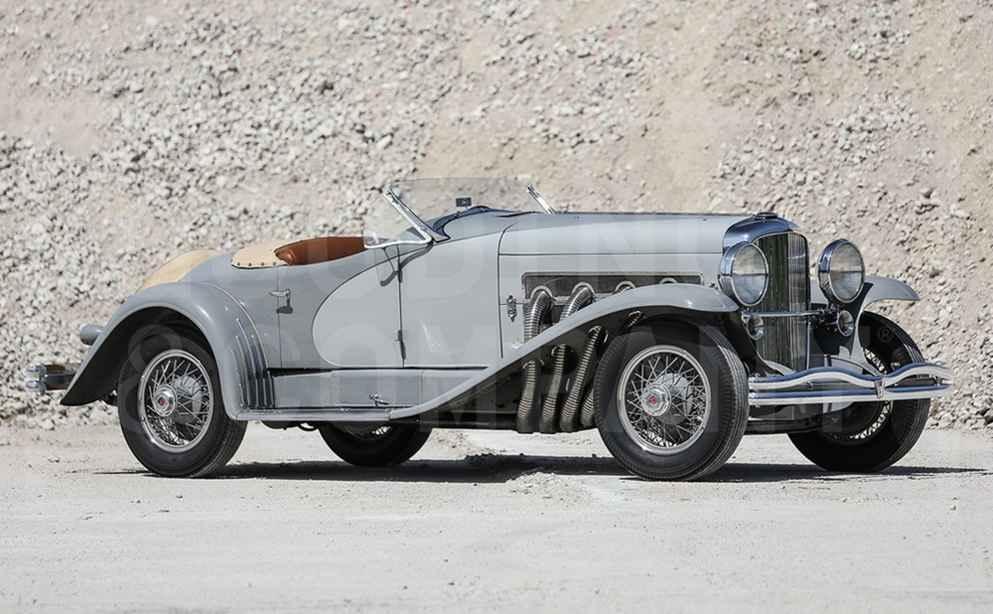 Der Duesenberg (1935) von Gary Cooper erzielte 18,92 Millionen Euro