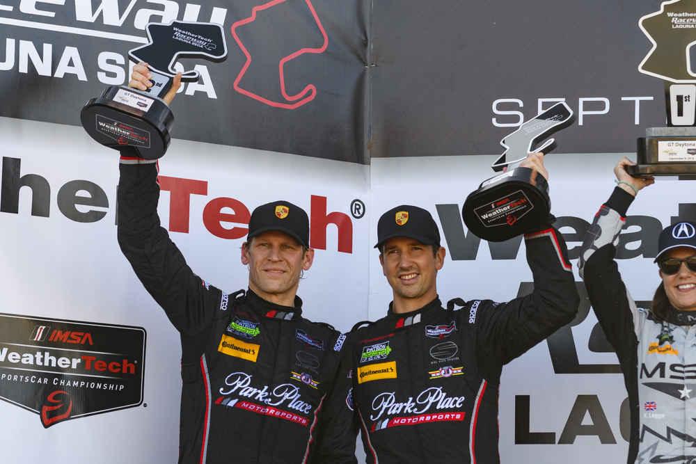 Park Place Motorsports: Joerg Bergmeister, Patrick Lindsey